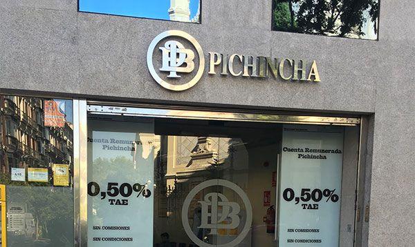 rótulo pichincha