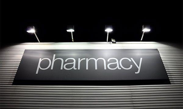 Rótulos Planos o en Plancha farmacia