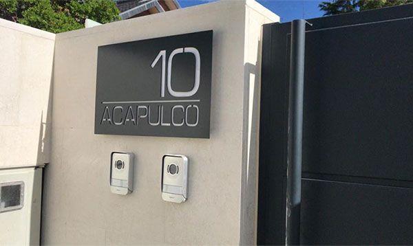 rotulo chapa vivienda acapulco
