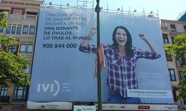 lona publicitaria gigante IVI