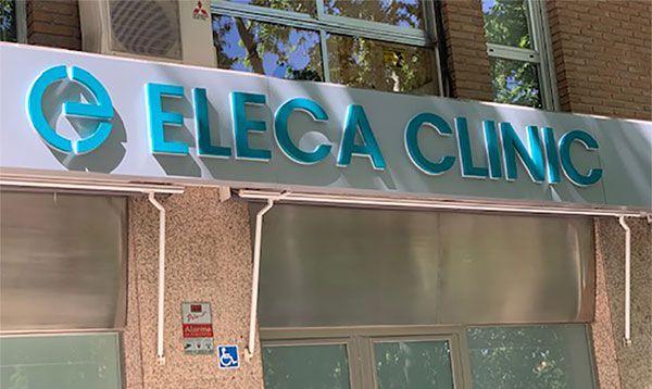 Rótulo Corpóreo Retroiluminado Eleca Clinic