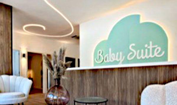 Logotipo corpóreo Baby Suite